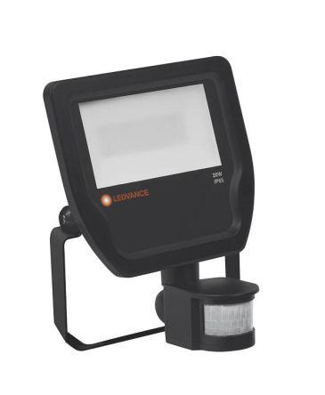 LEDVANCE LED Floodlight, 20 W, 2200 lm, IP65 PIR 220 → 240 V