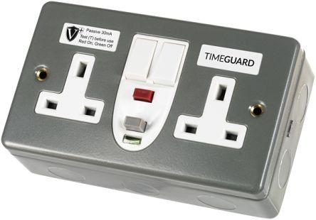 Theben / Timeguard RCD08MPVN Гнездо RCD