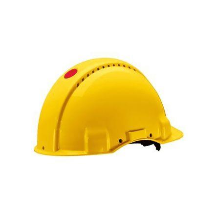 G3001NUV-GU SAFETY Helmet Yellow Ratchet