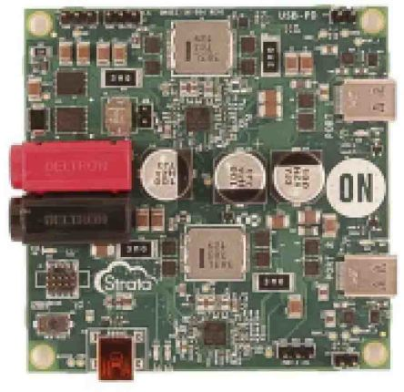 ON Semiconductor, Dual 100W USB-PD Automotive Charging System Evaluation Board for FUSB302 - STR-USBC-2PORT-100W-EVK