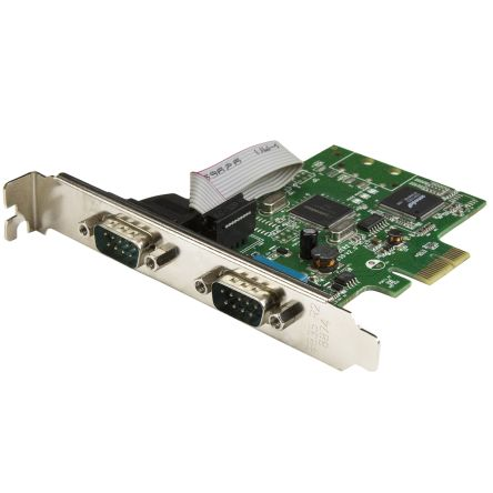 2-Port PCI Express Serial Card with 16C1