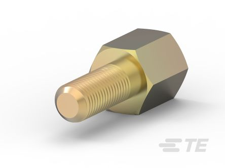 TE Connectivity Female UNC 4-40 Screw Lock Suitable For D Connector for use with All Plastic Right Angle Connectors