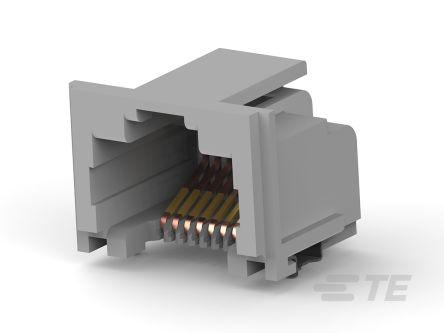 TE Connectivity, Female Cat5 RJ45 Connector