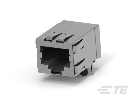 TE Connectivity, Female Cat5e RJ45 Connector