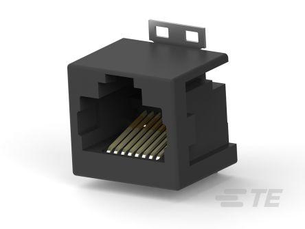TE Connectivity, Female Cat3 RJ45 Connector
