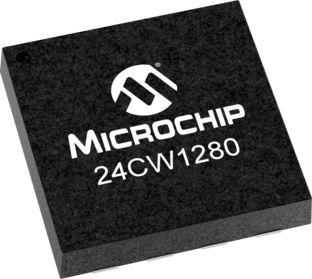 Microchip Technology 24CW1280T-I/MUY, 128kbit EEPROM Chip 8-Pin UDFN