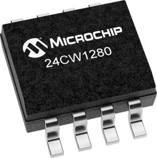 Microchip 24CW1280-I/SN, 128kbit EEPROM Chip 8-Pin SOIC