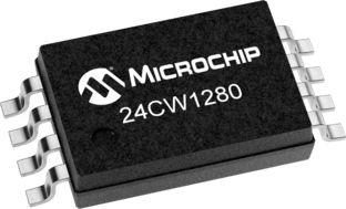 Microchip 24CW1280-I/ST, 128kbit EEPROM Chip 8-Pin TSSOP