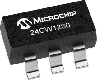 Microchip 24CW1280T-I/OT, 128kbit EEPROM Chip 5-Pin SOT-23