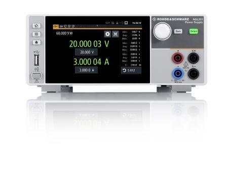 Rohde & Schwarz Digital Bench Power Supply 120W, 2 Output 0 → 20V 6A