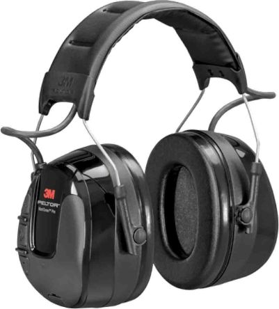 3M HRXS221A 3.5 mm Jack Plug Listen Only Electronic Ear Defenders with Headband, 32dB