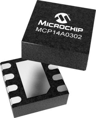 Microchip MCP14A0302T-E/KBA High Speed MOSFET Power Driver, 3 (Typ.)A 8-Pin, WDFN
