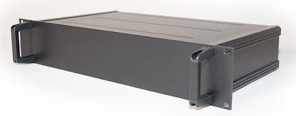 RS PRO, 2U Rack Mount Case, 245 x 425 x 84mm