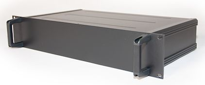 RS PRO, 2U Rack Mount Case, 425 x 425 x 84mm