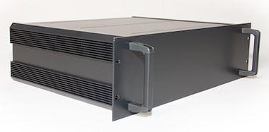 RS PRO, 3U Rack Mount Case, 425 x 425 x 128.6mm
