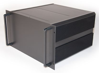 RS PRO, 6U Rack Mount Case, 465 x 425 x 262mm