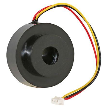 Black Buzzer, 30.6 mm Diameter, 6  16 V dc