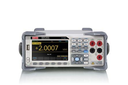 RS PRO RSDM3045X Bench Digital Multimeter, 10A ac 750V ac 10A dc 1000V dc 100MΩ