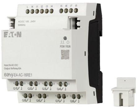 Eaton EASY-E4 Expansion Module, 100 → 240 V ac/dc Digital, Relay, 8 x Input, 8 x Output
