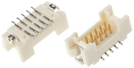 Hirose, DF13, 10 Way, 2 Row, Straight PCB Header