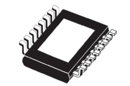 STMicroelectronics VN7050AJTR High Side MOSFET Power Driver, 10A 16-Pin, PowerSSO