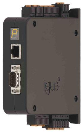 Igus, DC Motor Controller, 2 Phase, 12  24 (Logic) V dc, 12  48 (Load) V dc, 10 (ST) A, 14 (DC) A, 21