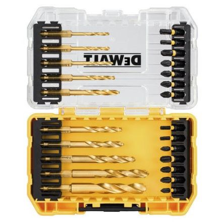 DeWALT 24 piece Metal Metal Drill Bit Set 3mm to 10mm