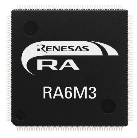 Renesas Electronics R7FA6M3AF3CFC#AA0 ARM Cortex M4F Microcontroller