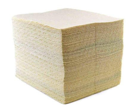 Ecospill Ltd Chemical Spill Absorbent Pad 120 L Capacity, 100 Per Package