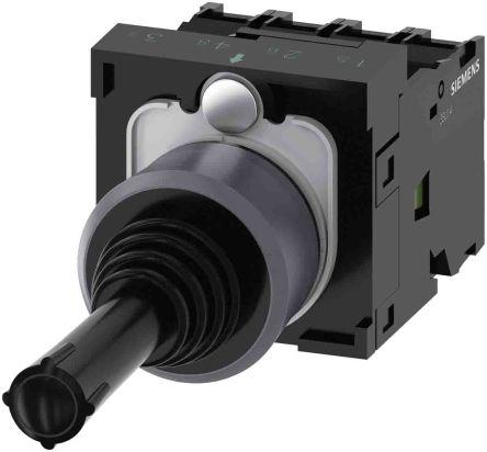 Coordinate switch, 22 mm, round, metal f