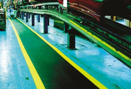 COBA Orthomat Safety Individual PVC Foam Anti-Fatigue Mat x 900mm, 1.5m x 9mm
