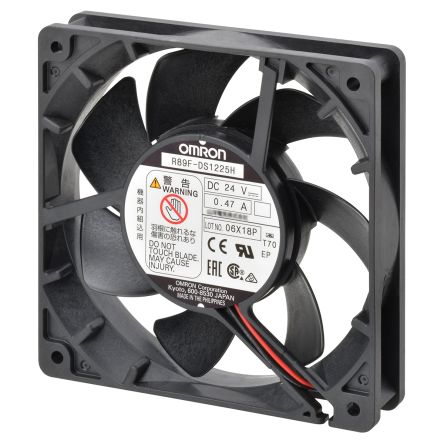 Omron, 24 V dc, DC Axial Fan, 120 x 120 x 38mm, 3.88m³/min, 12W
