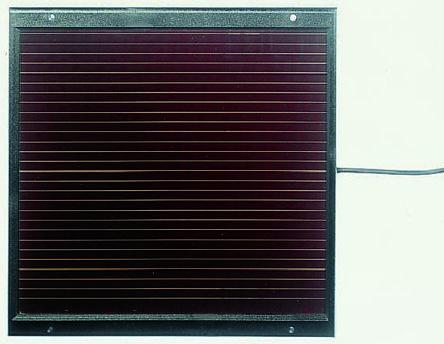 Amorphous low/medium power solar panel