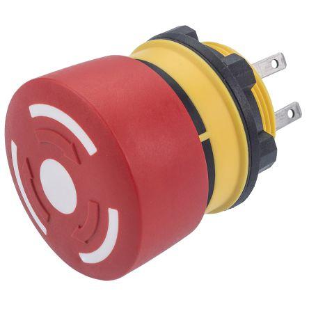 EAO Compact E-Stop - 1NC, 1NO, 32mm, Round Head