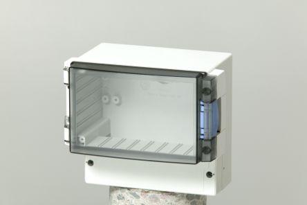 Fibox ABS Enclosure, IP65, 188 x 160 x 106mm Light Grey