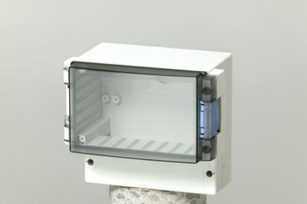 Fibox ABS Enclosure, IP65, 188 x 160 x 134mm Light Grey