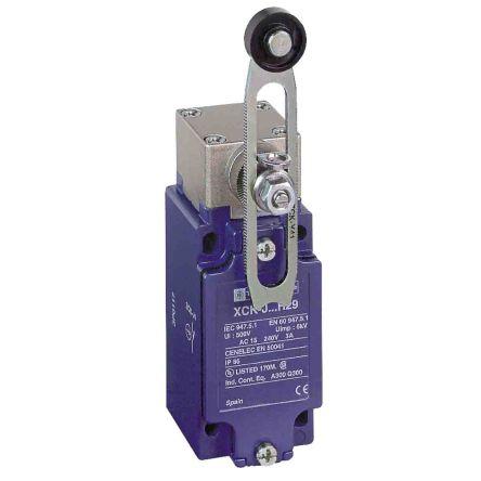 Telemecanique Sensors, Limit Switch - Zamak, 1NC/1NO, Roller Lever, 240V, IP66