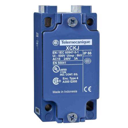 Telemecanique Sensors, Snap Action Limit Switch - Metal, 1NC/2NO, 240V, IP66