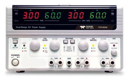 Teledyne LeCroy Switching DC Power Supply, Bench Power Supply, 375W, 3 Output , 0.1 → 5 V, 0 → 60 V 0