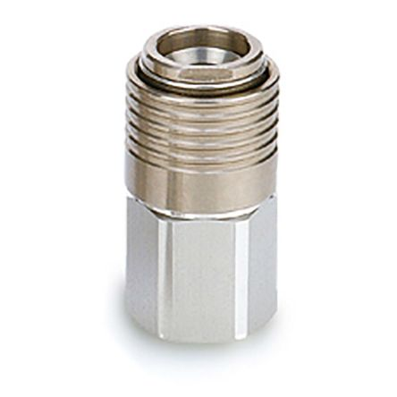 KKA*S-*F, S-Couplers, Stainless Steel, F