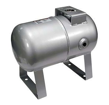 SMC Air Reservoir 10L, G 1/2, VBAT Series