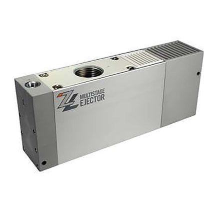 SMC Vacuum Ejector, 12mm nozzle , -84kPa 200L/min