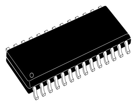 TDA7439DS13TR STMicroelectronics, 2-Channel Audio Amplifier IC, 28-Pin SOIC