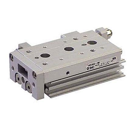 SMC Slide Unit Actuator Double Action, 25mm Bore, 100mm stroke