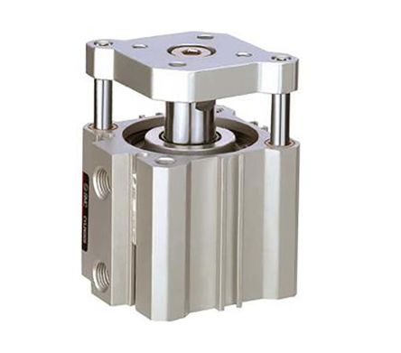 SMC Pneumatic Compact Cylinder 32mm Bore, 75mm Stroke, CQM Series, Double Acting