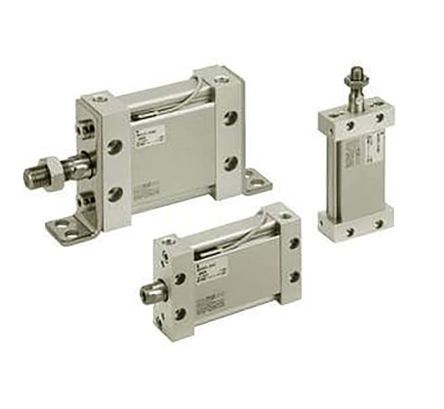 SMC Pneumatic Multi-Mount Cylinder MU Series, Double Action, Single Rod, 25mm Bore, 50mm stroke