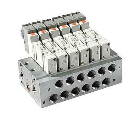 SS5Y3, 3000 Series, Bar Stock Manifold,