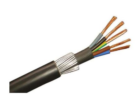 RS PRO 5 Core Industrial Cable, 4 50m Reel