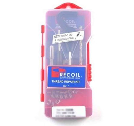 Recoil 15 piece M9 x 1.25 Thread Repair Kit