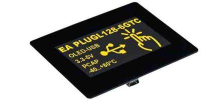 Electronic Assembly EA PLUGL128-6GTCZ OLED Display